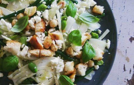 Venkel-bonen salade