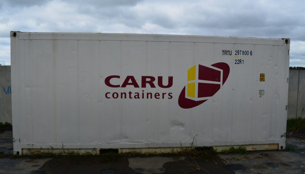 20ft container van Caru Containers