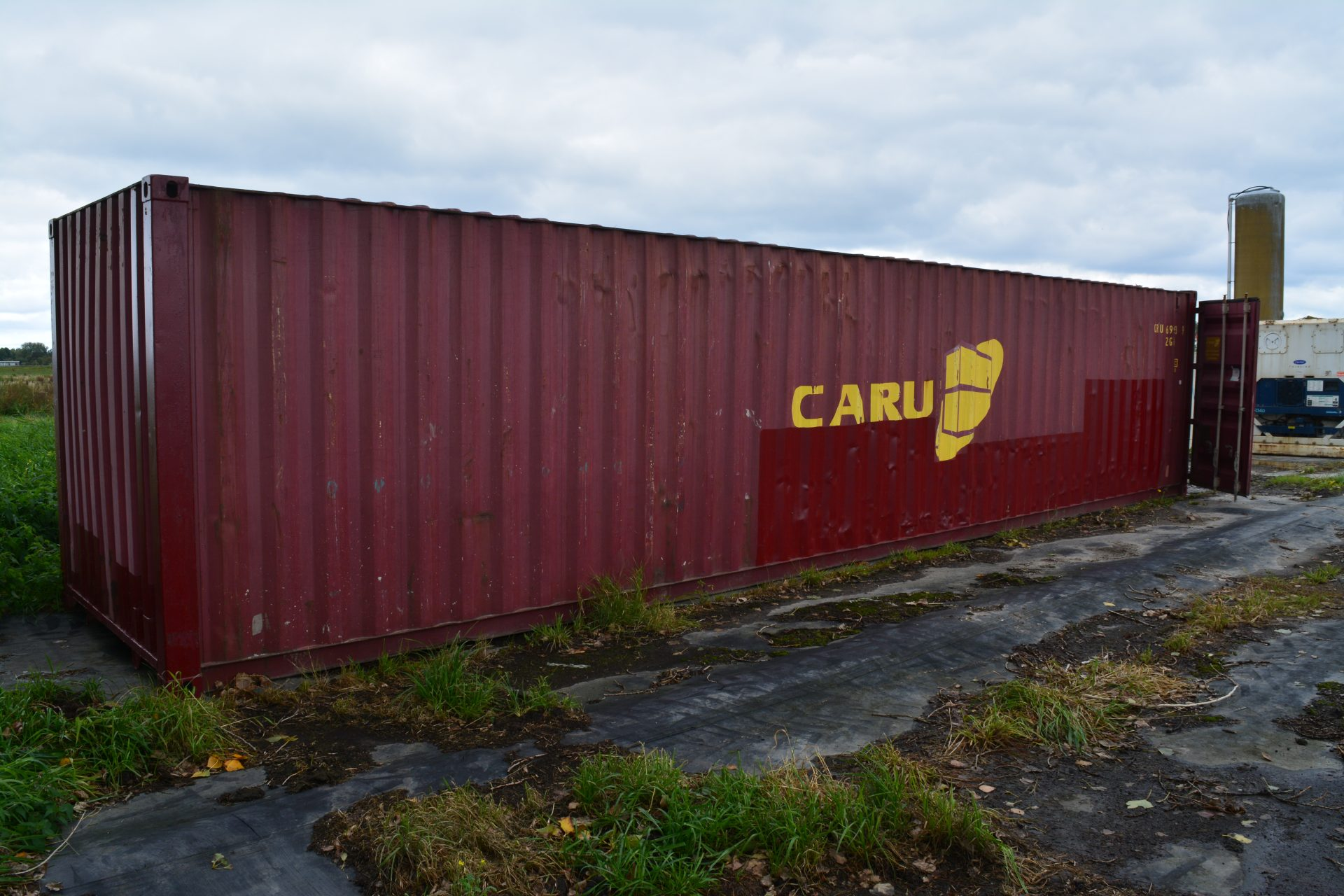40ft container van Caru Containers