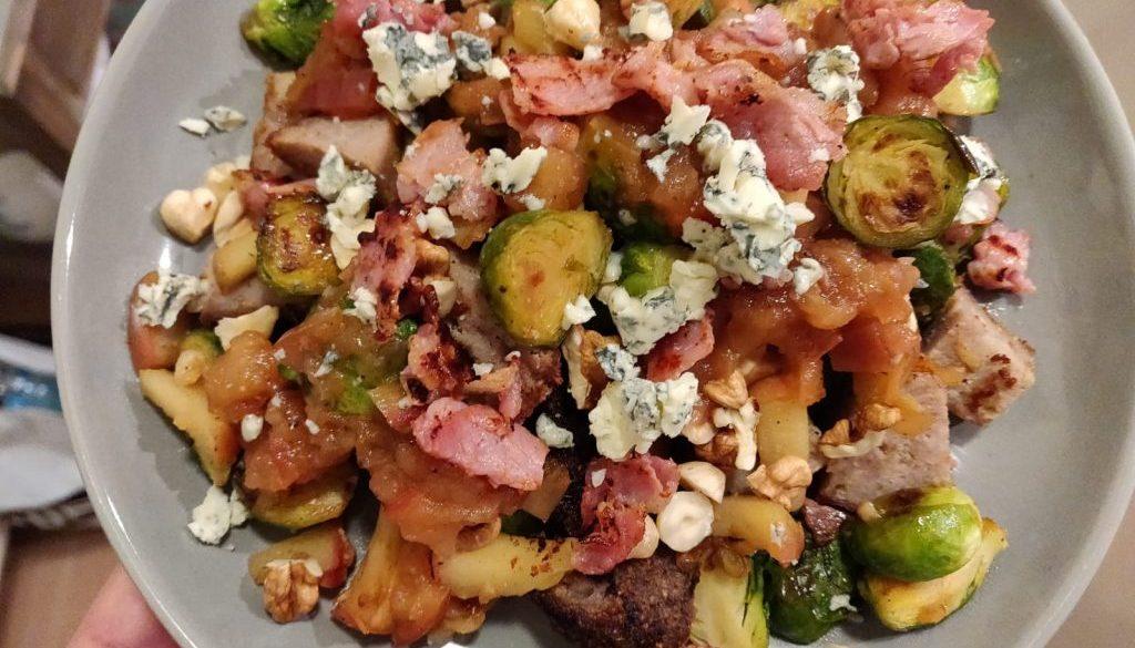 Warme spruitjes salade - HBV recept