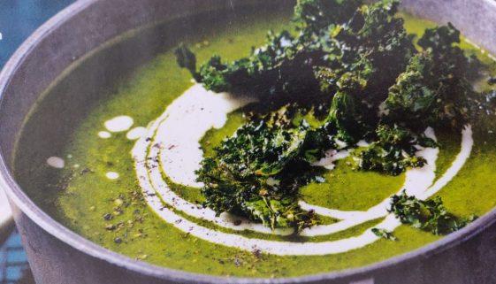 Winterse groentesoep